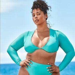 Swim Crop Tabria Majors Fashion to Figure Size 3